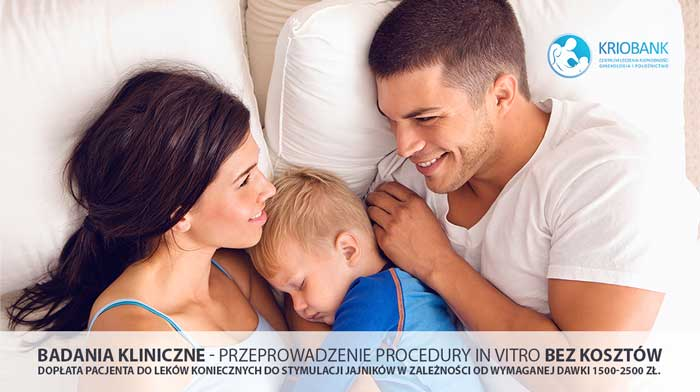 Badanie kliniczne – Procedura In Vitro bez kosztów
